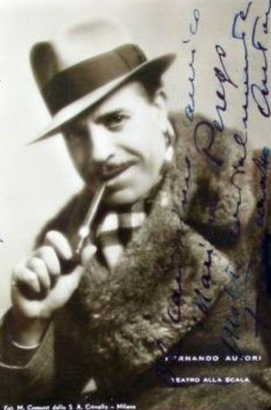 ITALIAN BASS FERNANDO AUTORI (1886-1937) CD