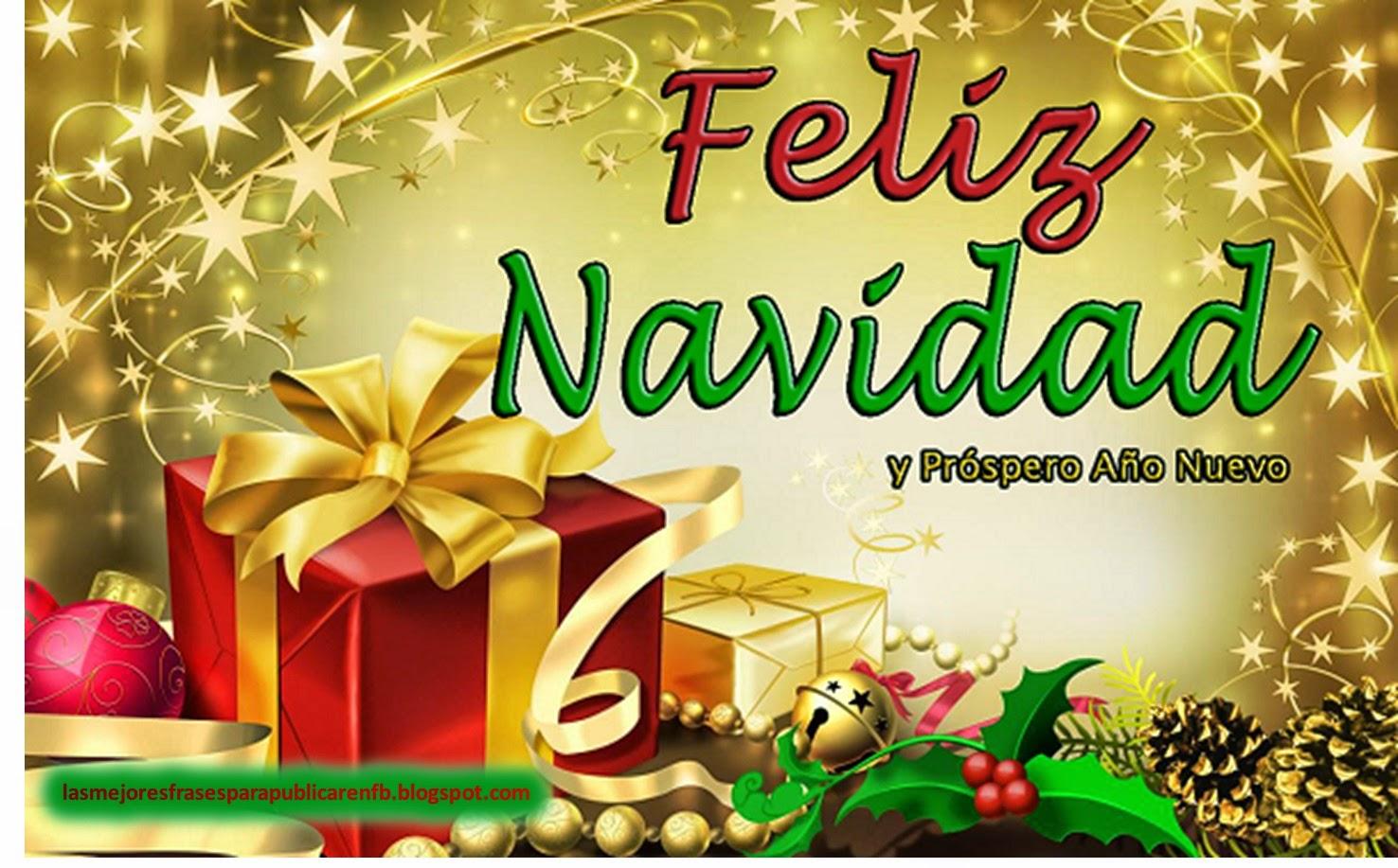 Frases De Navidad Y Año Nuevo: Feliz Navidad Y Próspero Año Nuevo