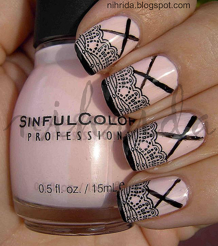 Nail Art Crown Princess Nail Designs Ideas