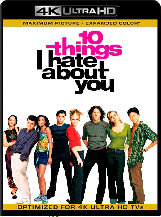 10 Things I Hate About You (1999) 4K x265 [2160p] [Latino] [GoogleDrive] [RangerRojo]