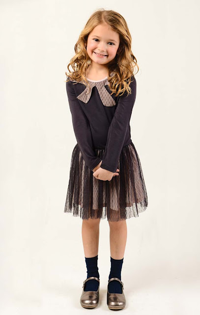 Imoga Tulle Dress | Girl's Fall Fashion | Chichi Mary Kid's Boutique