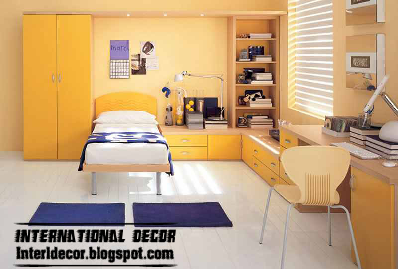 Latest kids room color schemes paint ideas 2013 - Kids room color combination ...