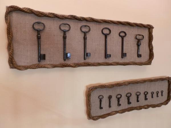 Decorando con llaves antiguas y candados parte 1 for Adornos para murallas