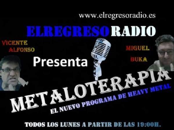 """Programas """"METALOTERAPIA y EL REGRESO MATINAL """"   WEB"""
