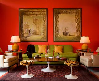 Caja negra el color en interiorismo su psicolog a en ser for Colores rusticos para interiores