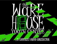 image The Warehouse Youth Centre currently Under Construction Green on black