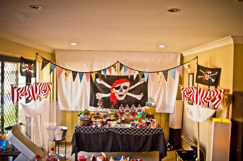 Украшение пиратская вечеринка для детей своими руками 66