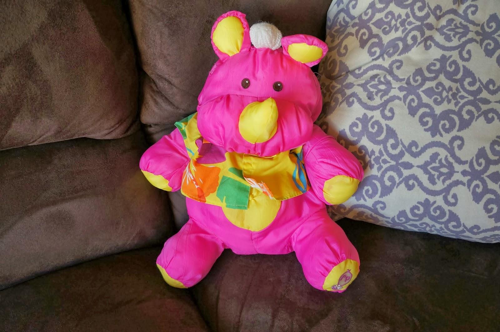Vintage Toys 1- rhino
