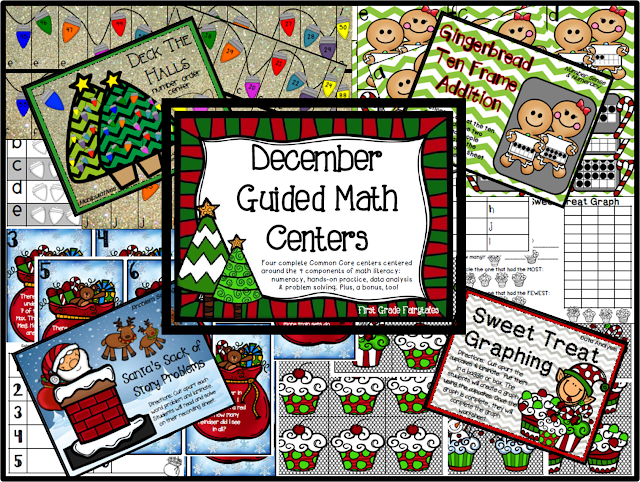 http://www.teacherspayteachers.com/Product/December-Guided-Math-Centers-997049