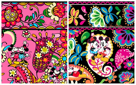The Disney Collection by Vera Bradley Patterns