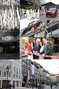 Hofstatt Eröffnung mit Top-Brands + Aktionen am 24.04.2013 in München