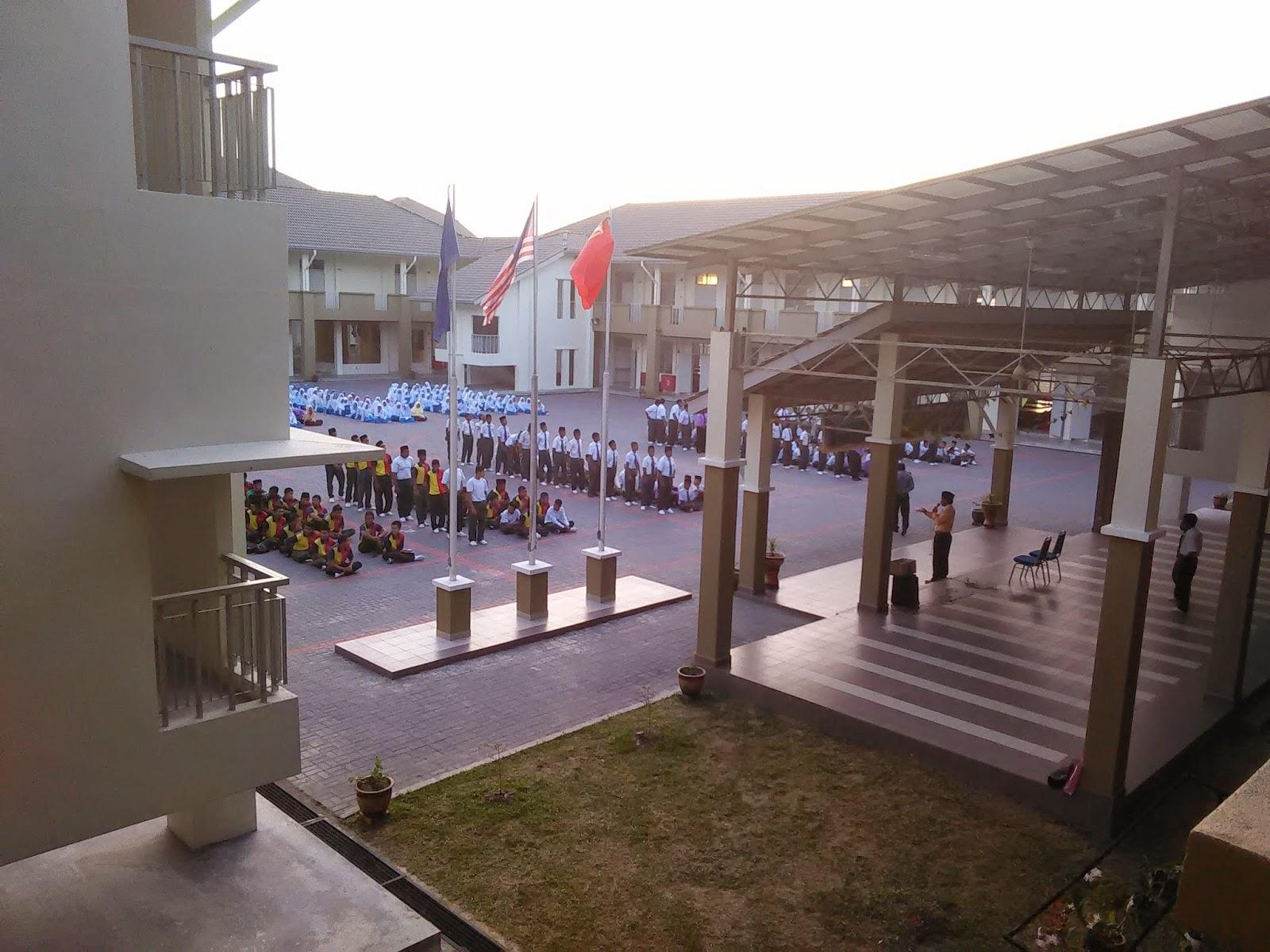 Gambar pertama di SMK Jerlun, Kedah