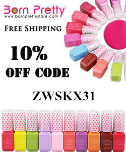 Born Pretty Store 10% off code ZWSKX31
