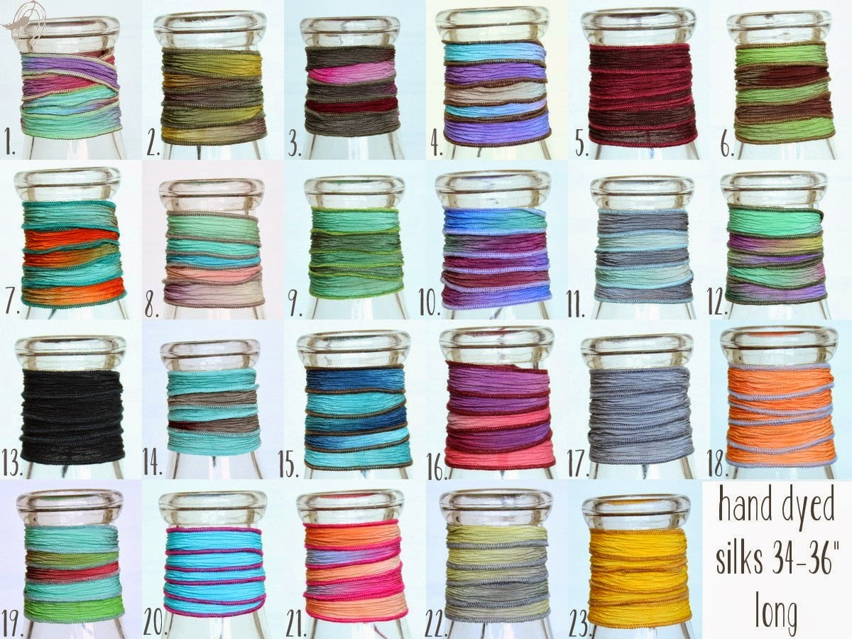 Silk Colors Available