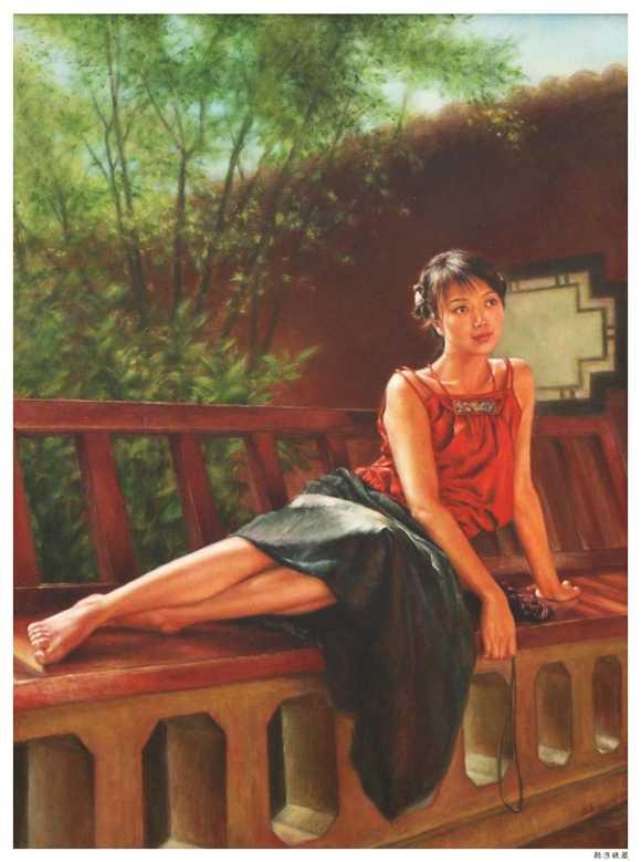 Lukisan Romantisme Realis xu fang
