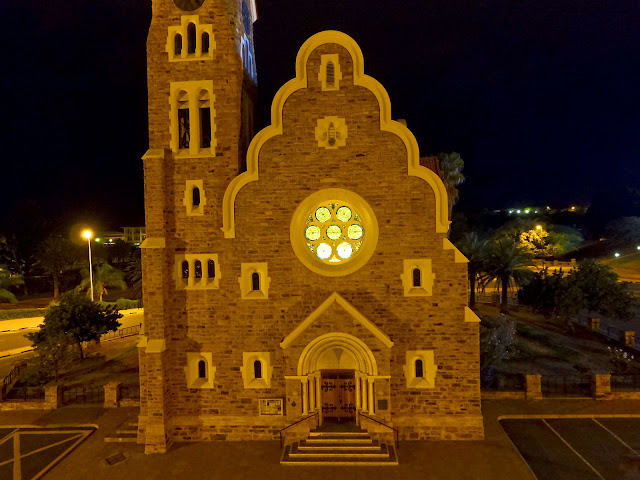 Windhoek by night - aerial photo gallery - Namibia