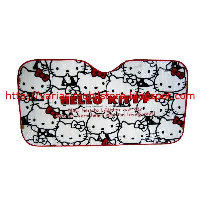 Penutup Kaca Keluarga Disney Hello Kitty