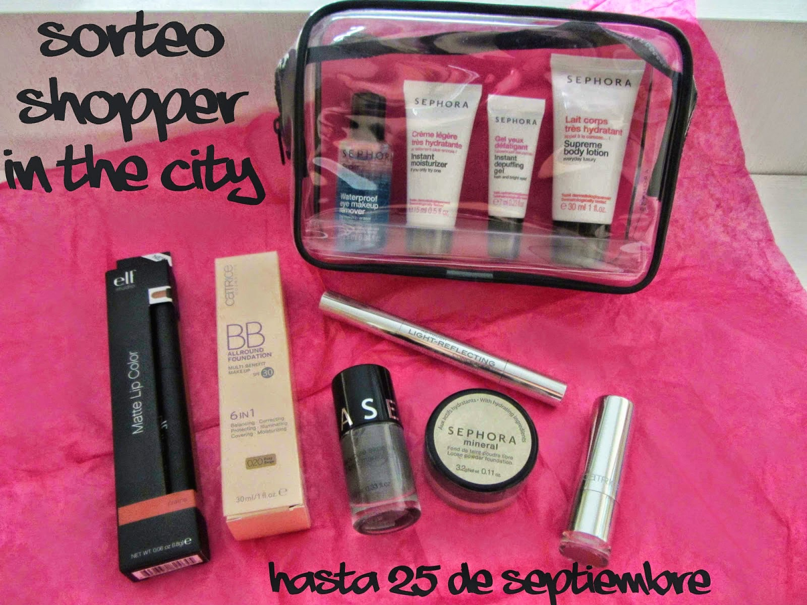 SORTEO 4º CUMPLEBLOG SHOPPER IN THE CITY