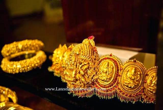 Temple Design Lakshmi Vaddanam