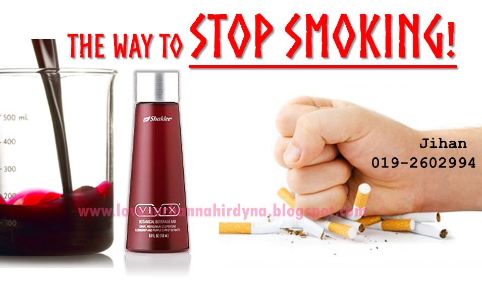 vivix ubat berhenti merokok