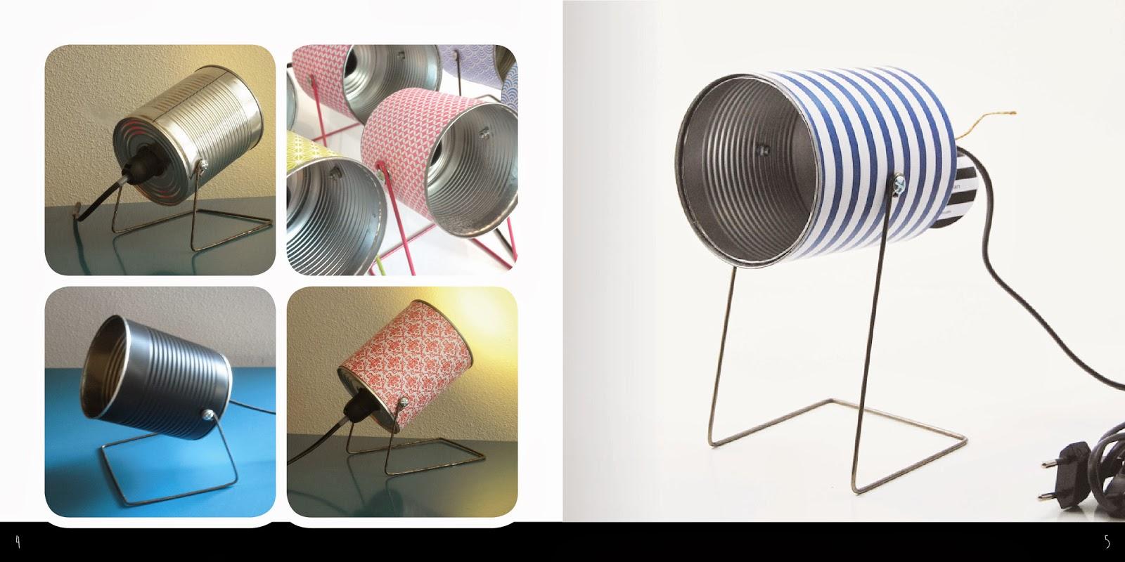 le blog de mr et mrs bin les lampes boite de conserve. Black Bedroom Furniture Sets. Home Design Ideas