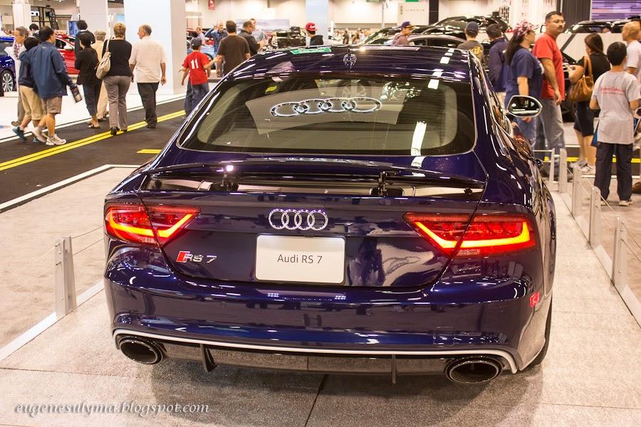 2013 OC Auto Show, Anaheim Convention Center.