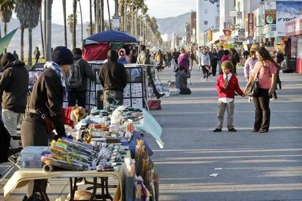 Curfew On Long Beach Boardwalk