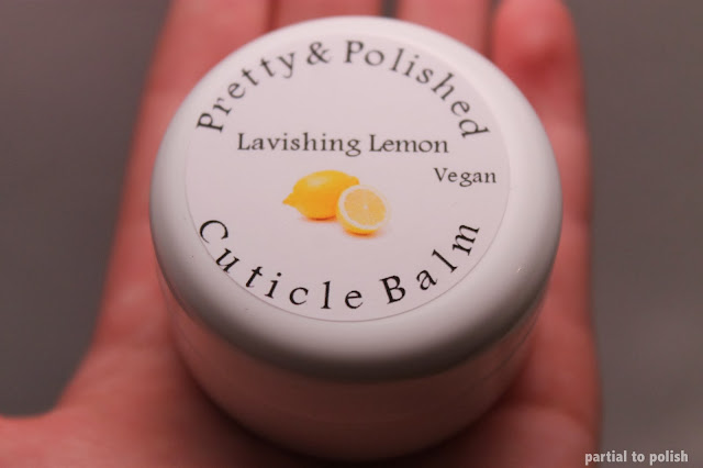 Pretty & Polished Lavishing Lemon Cuticle Balm
