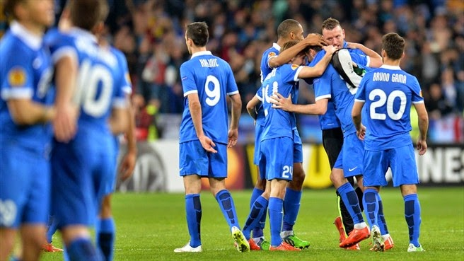 Highlights Dnipro 1 – 0 Club Brugge (Europa League)