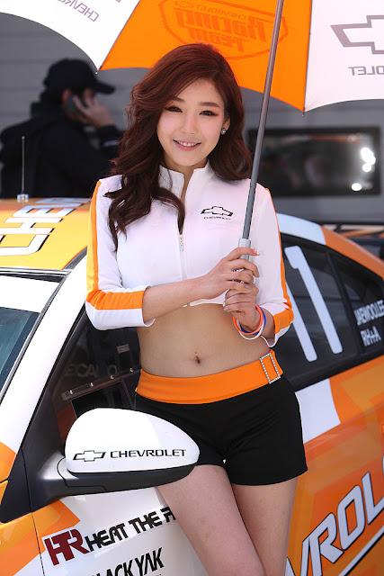 4 Jo Sang Hi - CJ SuperRace R1 2013  - very cute asian girl - girlcute4u.blogspot.com