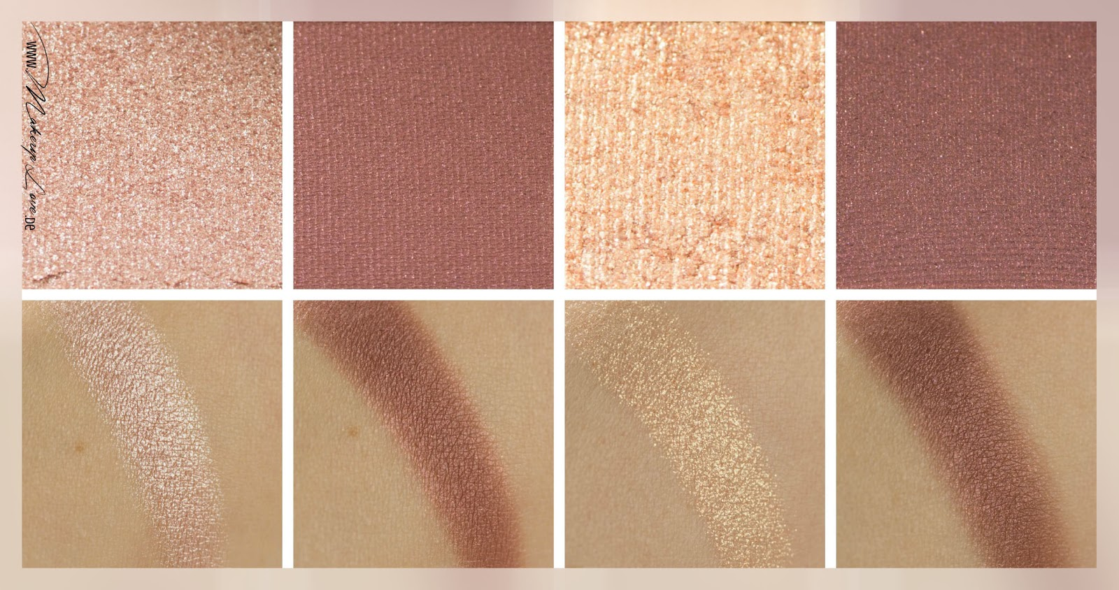 Charlotte Tilbury Luxury Palette 'The Vintage Vamp' Swatches