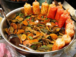 Соленья в Phsar Thmei - центральный рынок в Пномпене, Камбоджа Есть и быть www.EatAndBe.ru