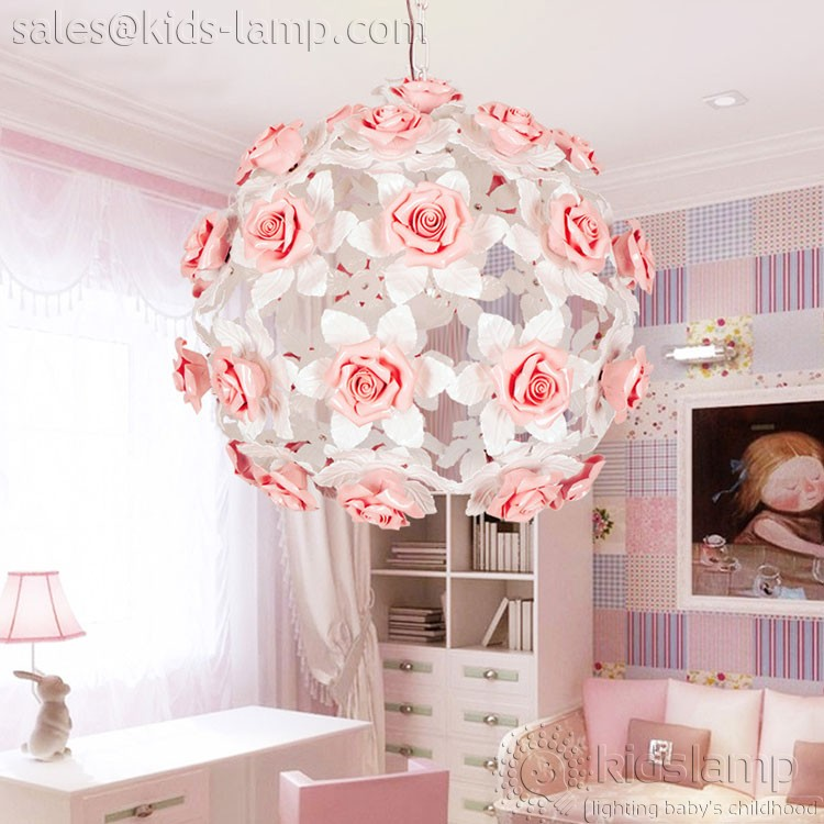 ornate kids lamps ceramic flower pendant lamps girl 39 s