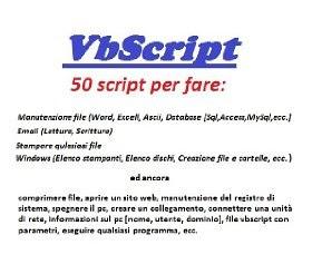 VbScript raccolta 50 script - eBook