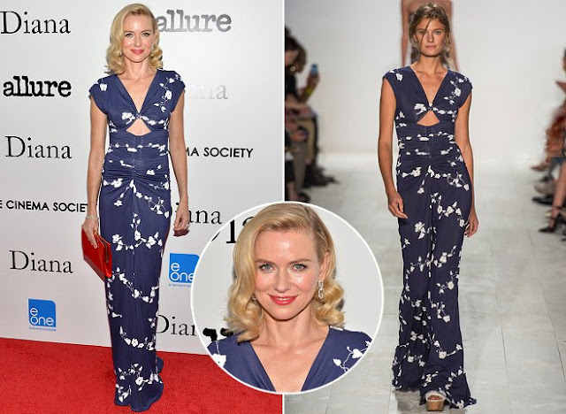 Naomi Watts in Michael Kors (Spring 2014 ) – 'Diana' New York Screening