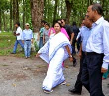 Mamata torecord first CM to trek to Sandakphu
