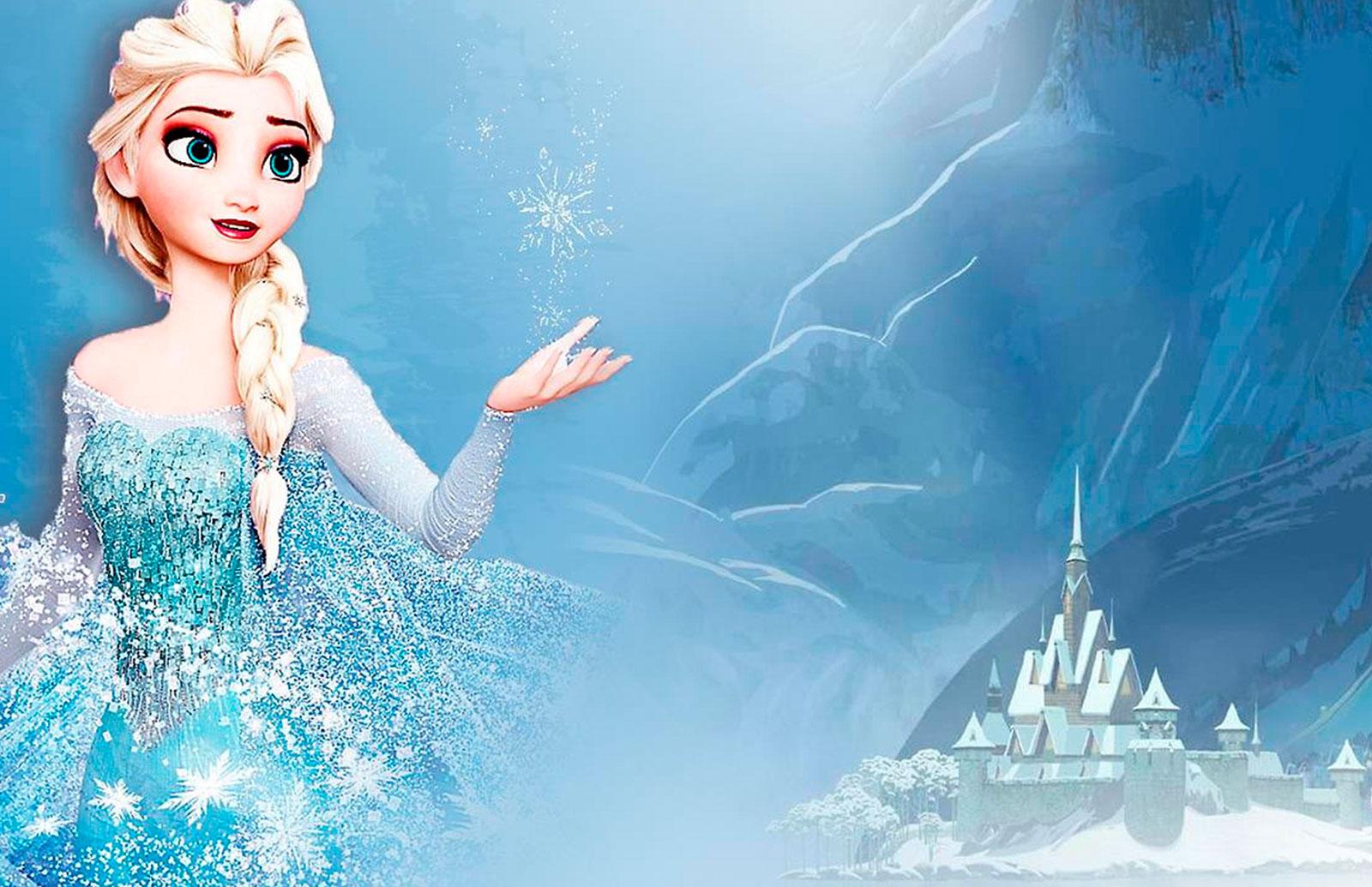 Tarjeta de Navidad Frozen
