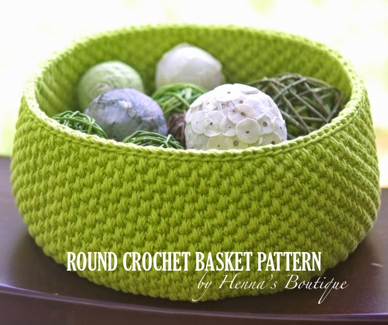 Free Crochet Pattern For Large Basket : ...Handy Crafter...: Buy patterns here