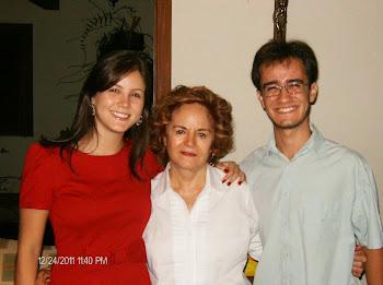 Gabriela, Gladys e Guilherme