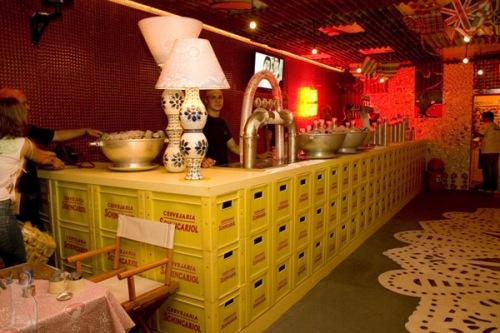A santa ideia decora o de bares e restaurantes - Como decorar un bar pequeno ...