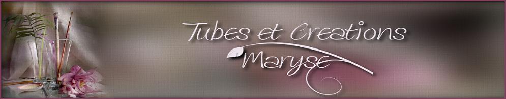 PSP Tubes & créations de Maryse