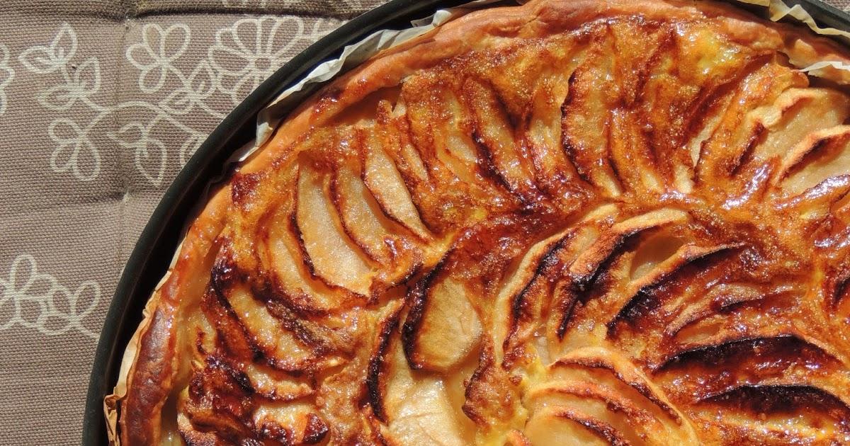 midi cuisine tarte aux pommes et sirop d 233 rable p 226 te sabl 233 e 224 la farine de ch 226 taigne