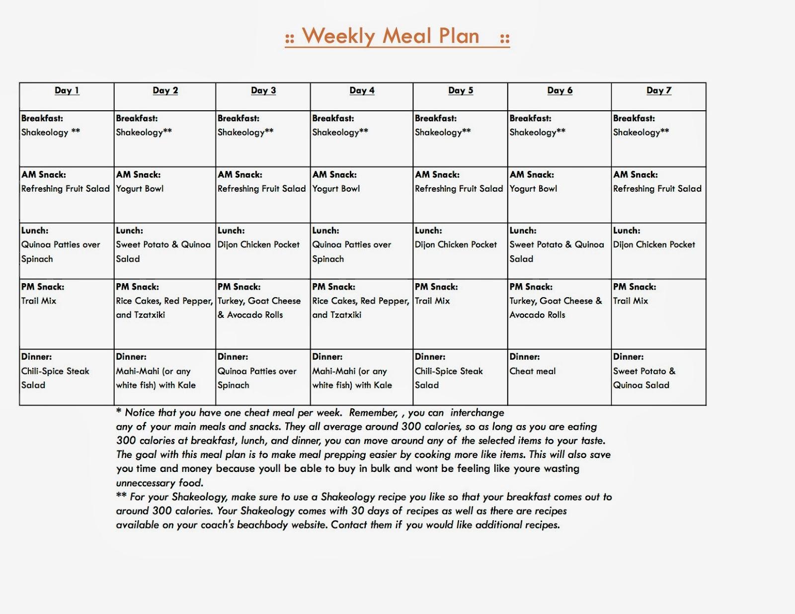 body for life eating plan pdf