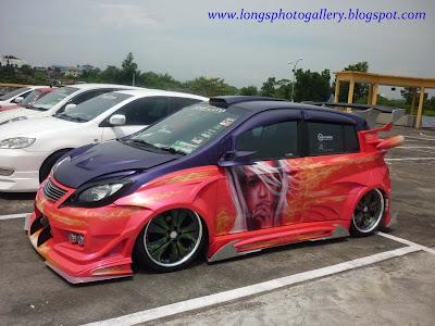 Extreme Widebody Getz autoshow
