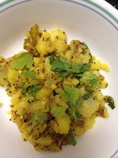 Potato Palya,Masala dosa,chutney