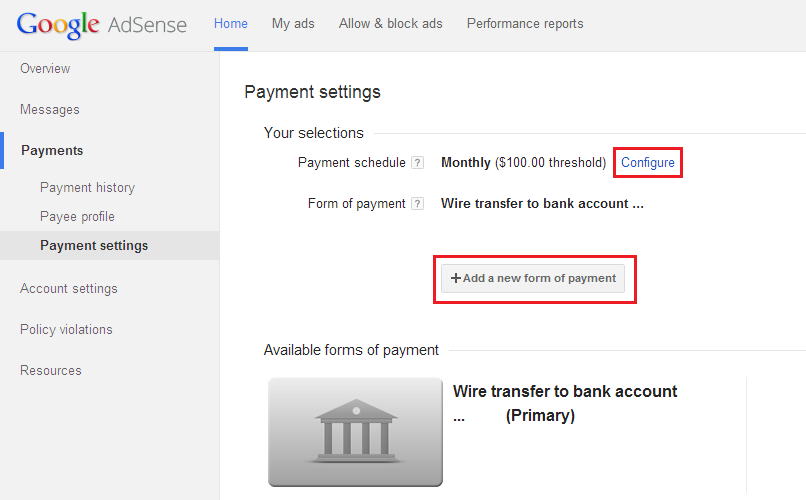 Google Adsense Finally Started Wire Transfer Payments In India