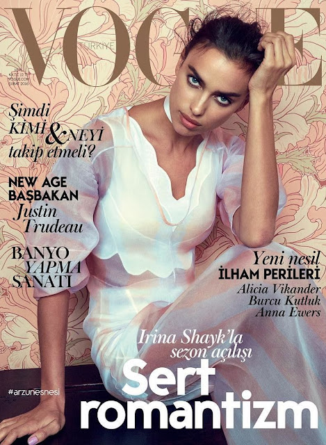 Actress, Model, @ Irina Shayk for Vogue Turkey February 2016