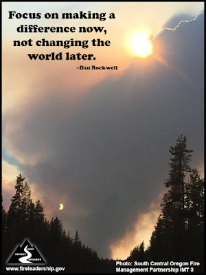 Focus on making a difference now, not changing the world later.  –Dan Rockwell