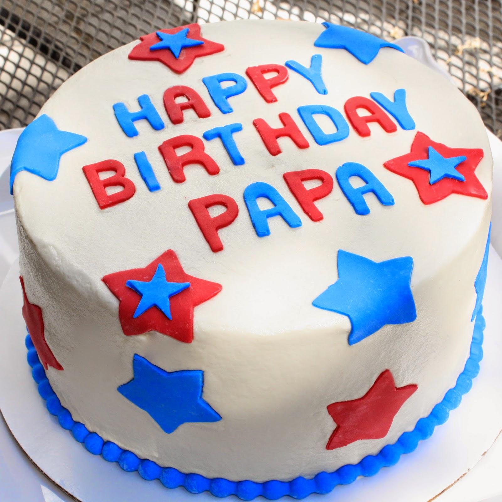Images Of Papa Birthday Cake : Kake: Happy Birthday Papa!