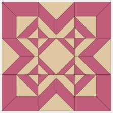 free quilt block pattern and templates for English paper piecing